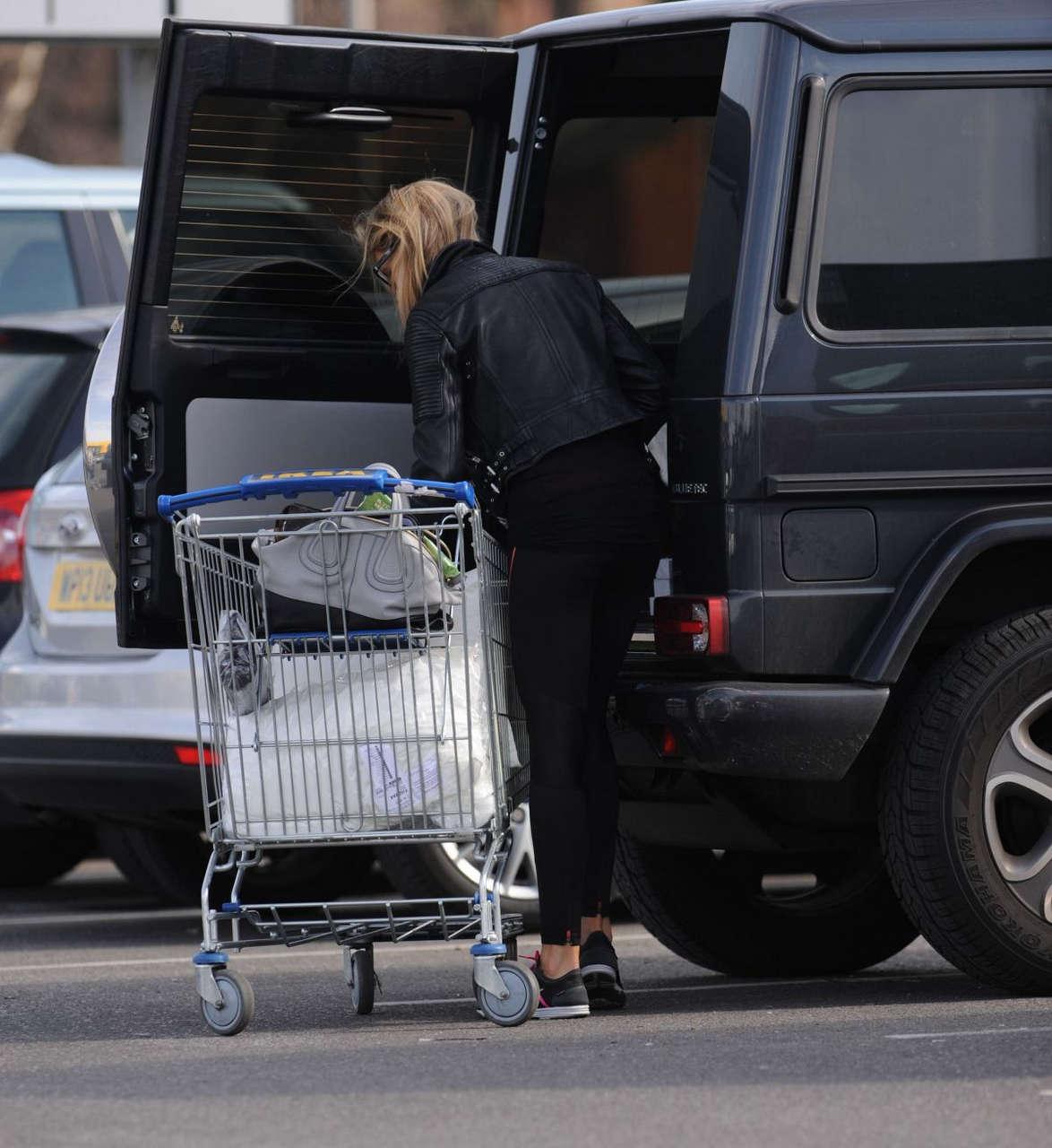 Abbey Clancy Shopping Brent Cross Ikea