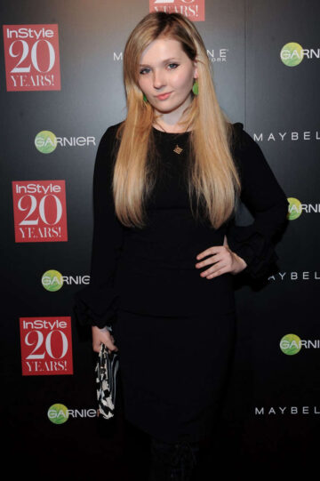 Abigail Breslin Instyle 20th Anniversary Party New York