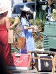 Abigail Spencer Shopping Farmers Market Montecito