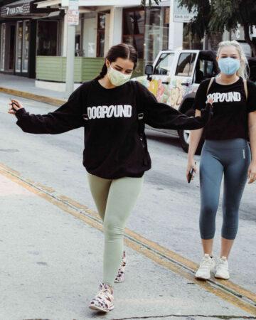 Addison Rae Arrives Dogpound Gym West Hollywood