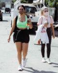 Addison Rae Leaves Dogpound Gym West Hollywood