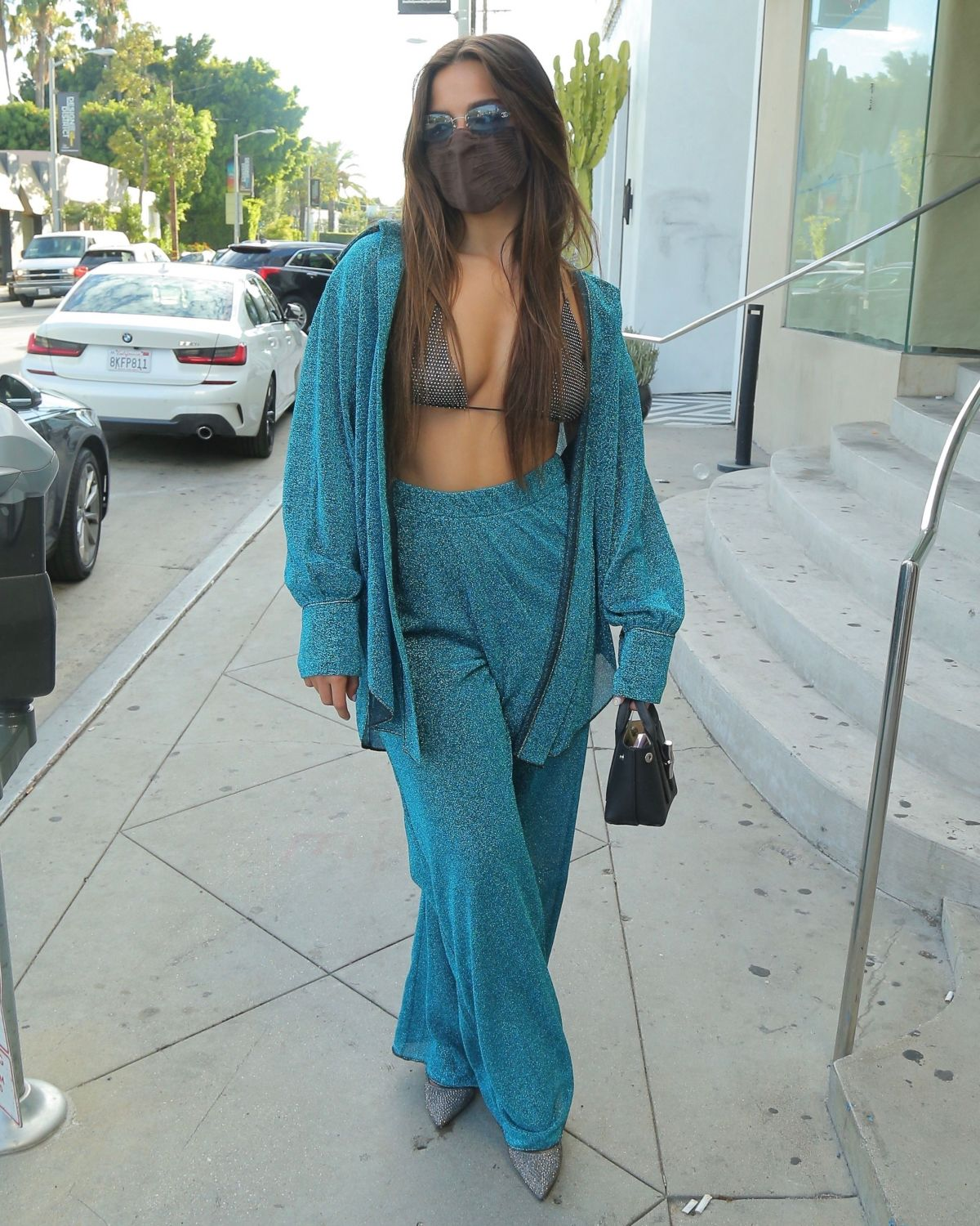 Addison Rae Out For Dinner Los Angeles