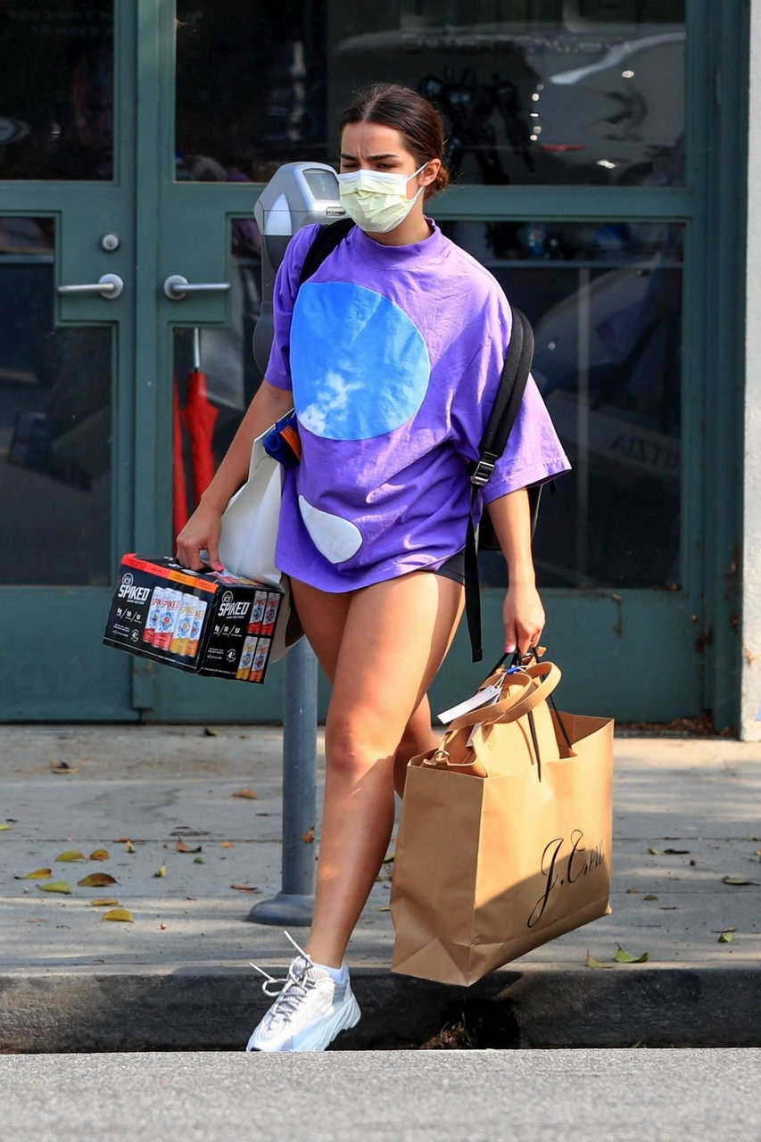 Addison Rae Out Shopping Beverly Hills
