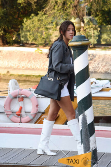 Adele Exarchopoulos Arrives Hotel Excelsior Venice