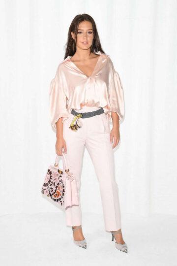 Adele Exarchopoulos Fendi Show Milan Fashion Week