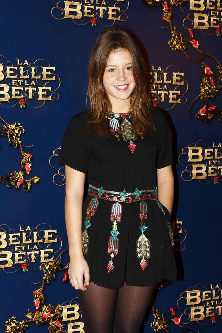 Adele Exarchopoulos La Belle La Bete Premiere Gaumont Opera Paris