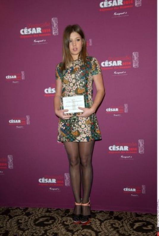 Adele Exarchopoulos Lunch Cesar Nominees Restaurant Fouquets Paris