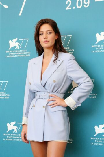 Adele Exarchopoulos Mandibules Photocall 77th Venice Film Festival