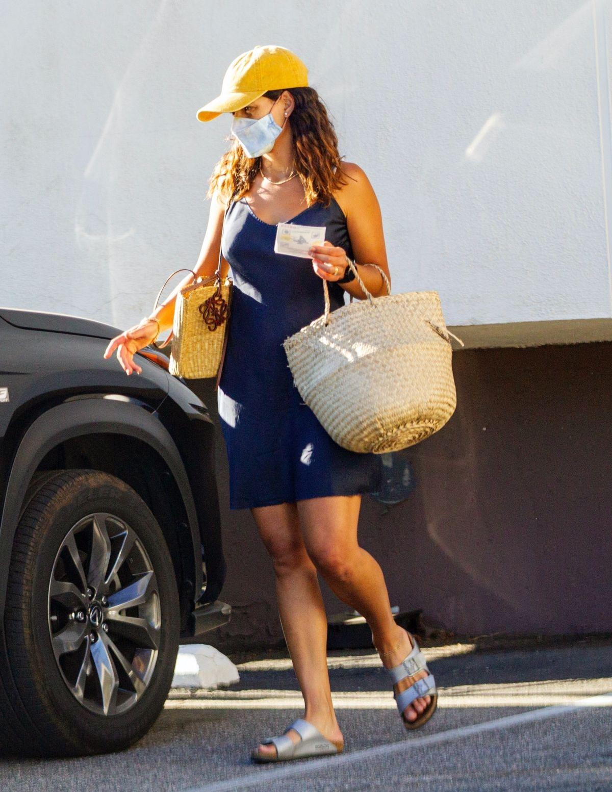 Adria Arjona Leaves Dry Cleaners Los Angeles