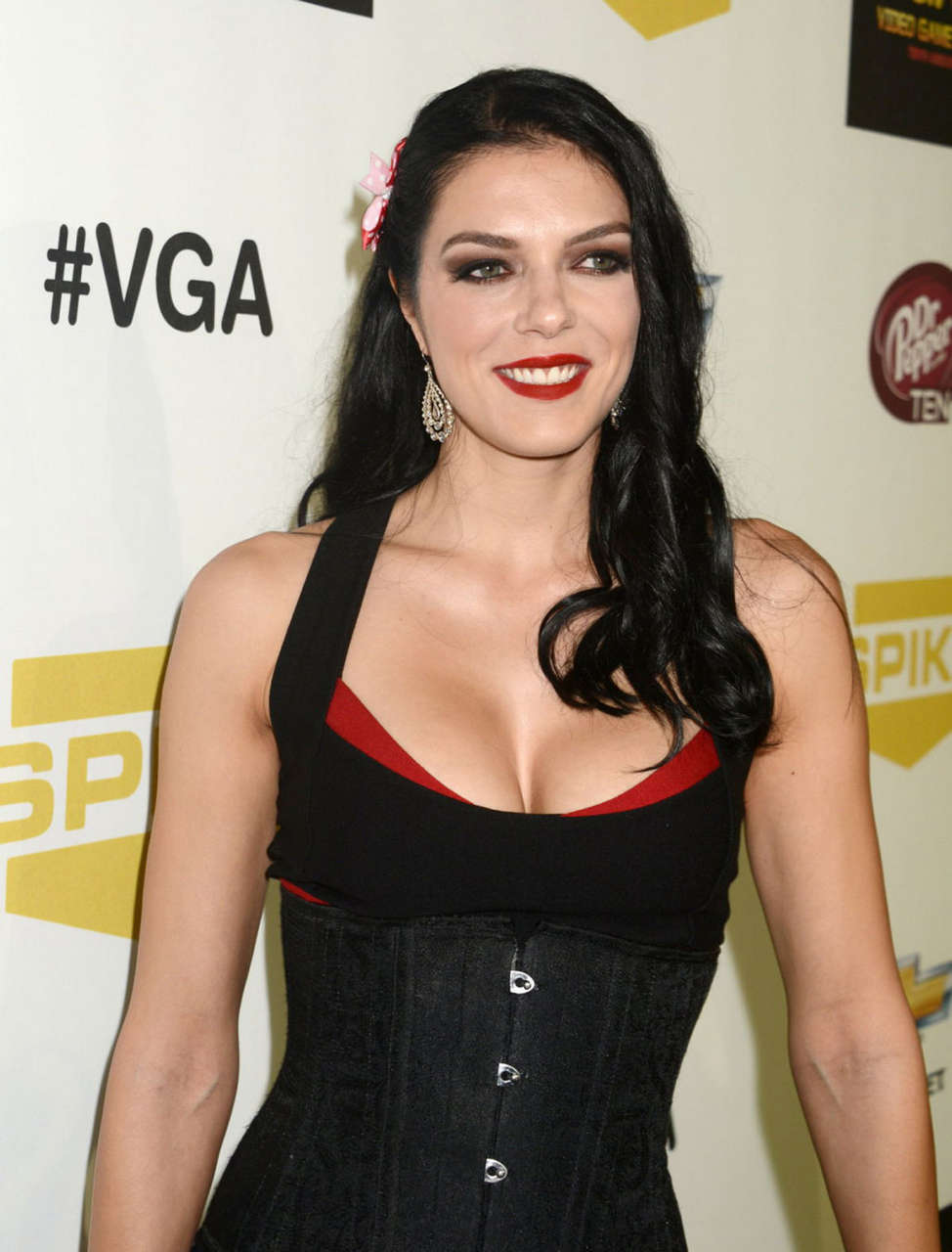 Adrianne Curry Spike Tvs 10th Annual Video Game Awards Culver City