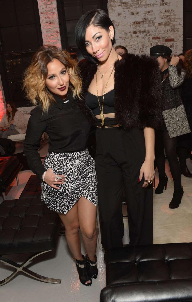 Adrienne Bailon Guess New York Fashion Week Celebration