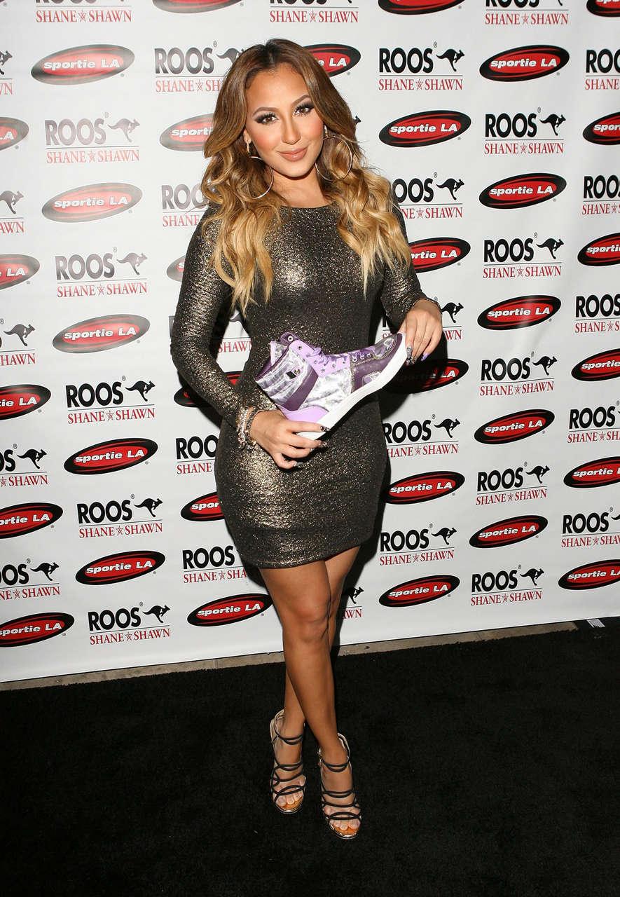 Adrienne Bailon Roos Shane Shawn Fashion Night Out Los Angeles