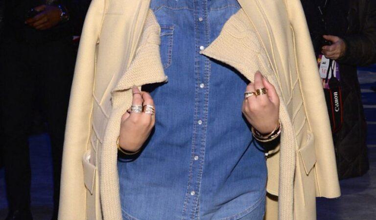Adrienne Bailon Son Jung Wan Fashion Show New York (5 photos)