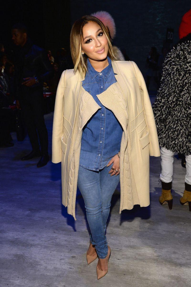 Adrienne Bailon Son Jung Wan Fashion Show New York
