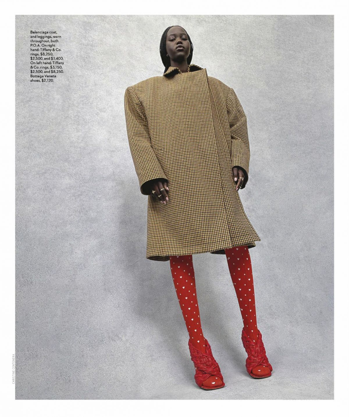 Adut Akech Vogue Magazine Australia August