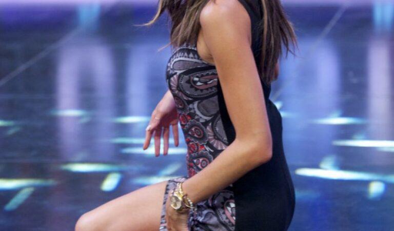 Aelssandra Ambrosio El Hormiguero Tv Show Madrid (32 photos)
