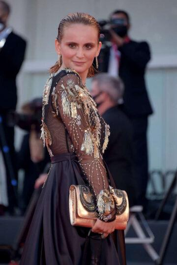 Agatha Maksimova World To Come Premiere 77th Venice International Film Festival