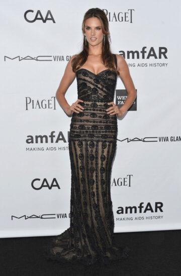 Alessandra Ambrosio 3rd Annual Amfar Inspiration Gala Los Angeles