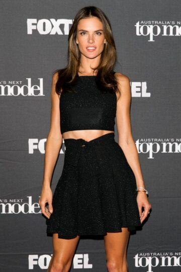 Alessandra Ambrosio Australias Next Top Model Elimination Sydney