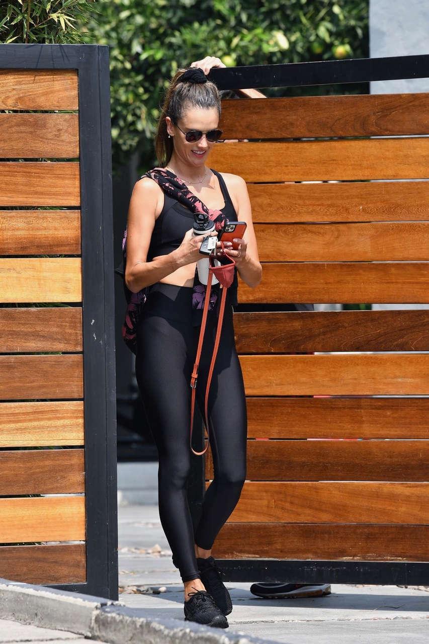Alessandra Ambrosio Gym Los Angeles