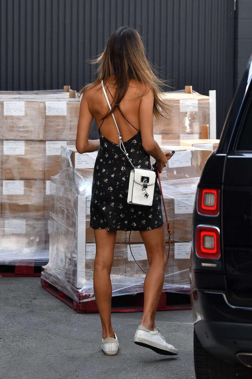Alessandra Ambrosio Heading To Photoshoot Los Angeles