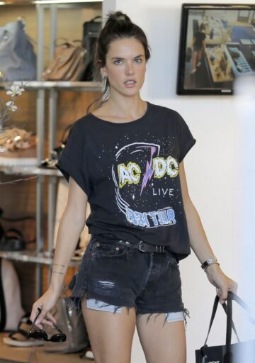 Alessandra Ambrosio Out Shopping Pacific Palisades