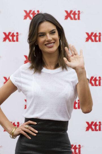 Alessandra Ambrosio Present Xti New Collection Madrid