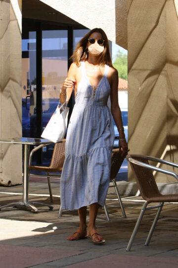 Alessandra Ambrosio Skin Care Clinic Los Angeles