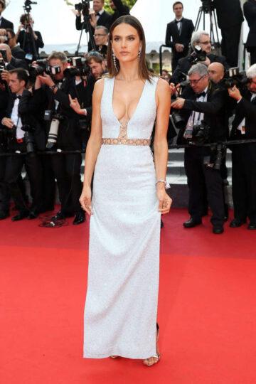 Alessandra Mabrosio Unknown Girl Premiere 69th Annual Cannes Film Festival