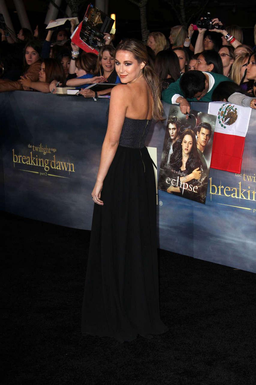 Alexa Vega Twilight Saga Breaking Dawn Part 2 Premiere Los Angeles