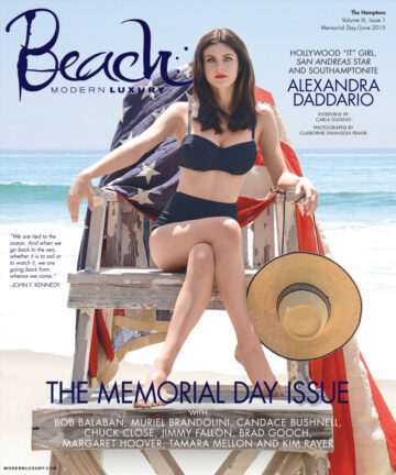 Alexandra Daddario Modern Luxury Beach Magazine June 2015