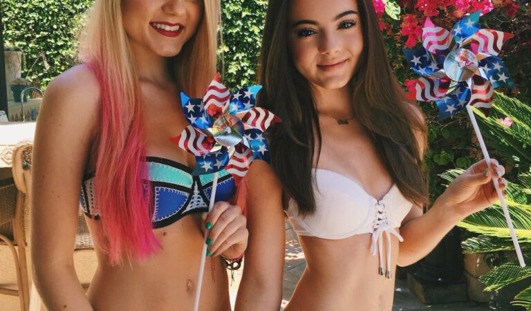 Alexi Blue And Ava Allan Celebrating The 4th Of July (1 photo)