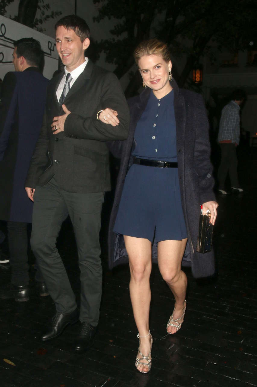 Alice Eve Leaves Chateau Marmont