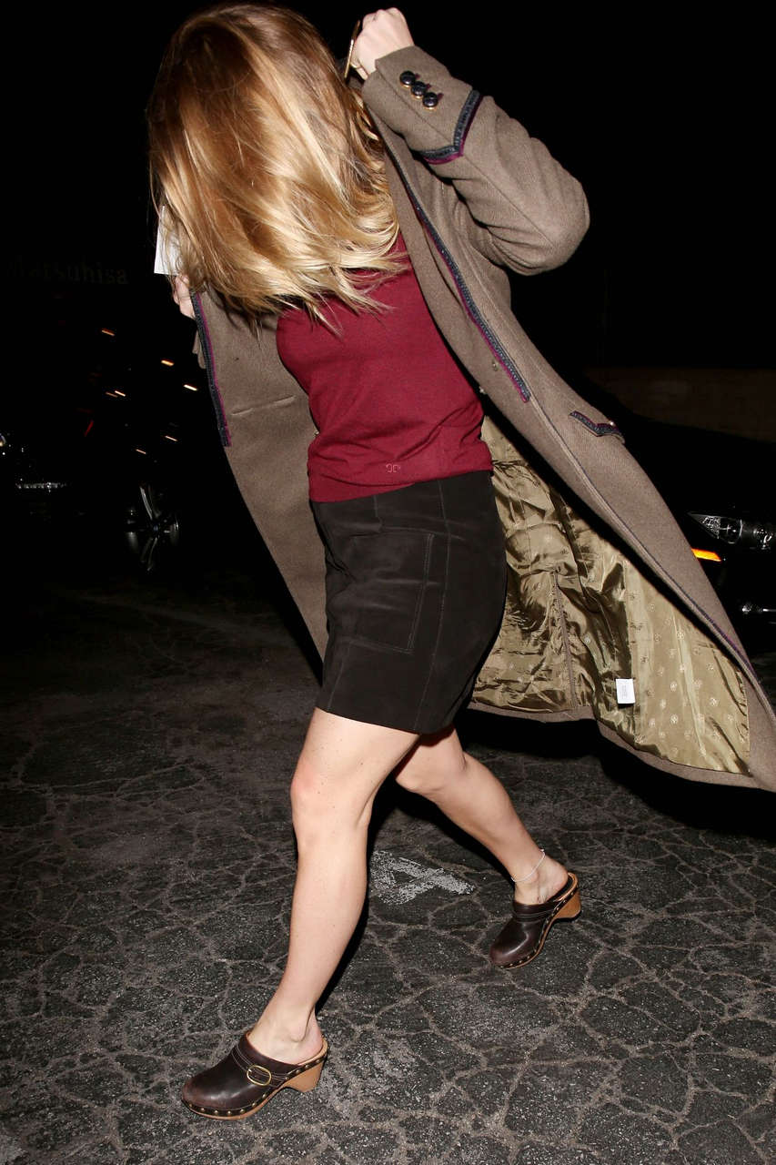 Alice Eve Leaves Matsuhisa Restaurant West Hollywood