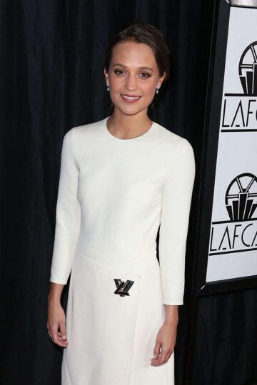 Alicia Vikander 40th Annual Los Angeles Film Critics Association Awards Century City
