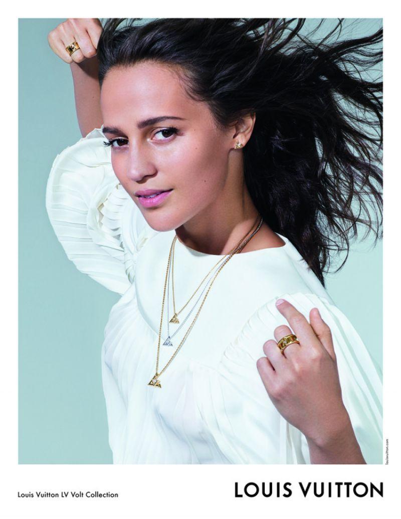 Alicia Vikander For Louis Vuitton Lv Volt Collection