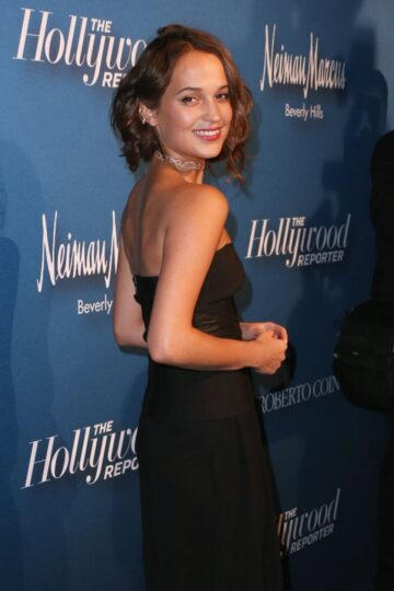 Alicia Vikander Hollywood Repoerters 4th Annual Nominees Night Beverly Hills