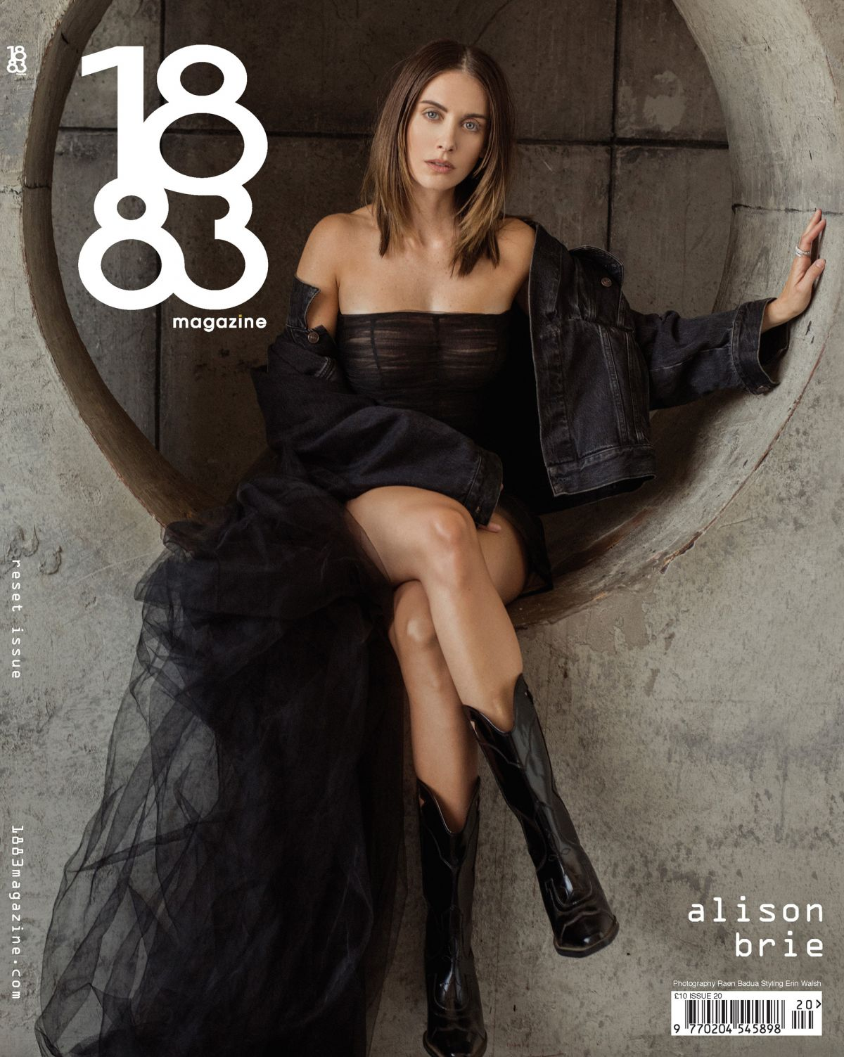 Alison Brie For 1883 Magazine July