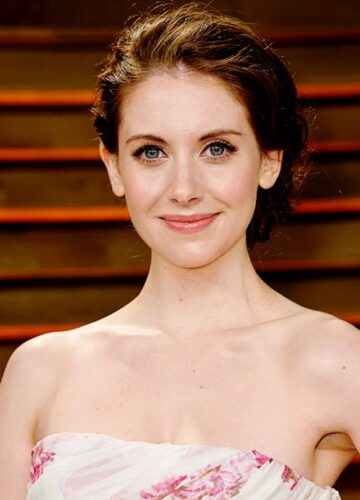 Alison Brie Vanity Fair Oscar Party Hollywood