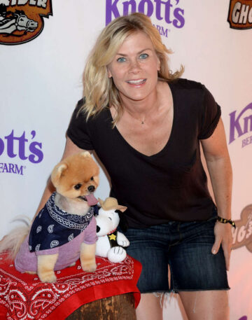 Alison Sweeney Ghost Rider Rides Again Event Knotts Berry Farm Buena Park