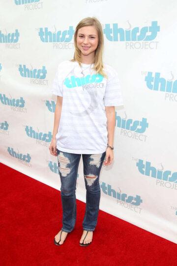 Allie Gonino Thirst Project Celebrates World Water Day Santa Monica