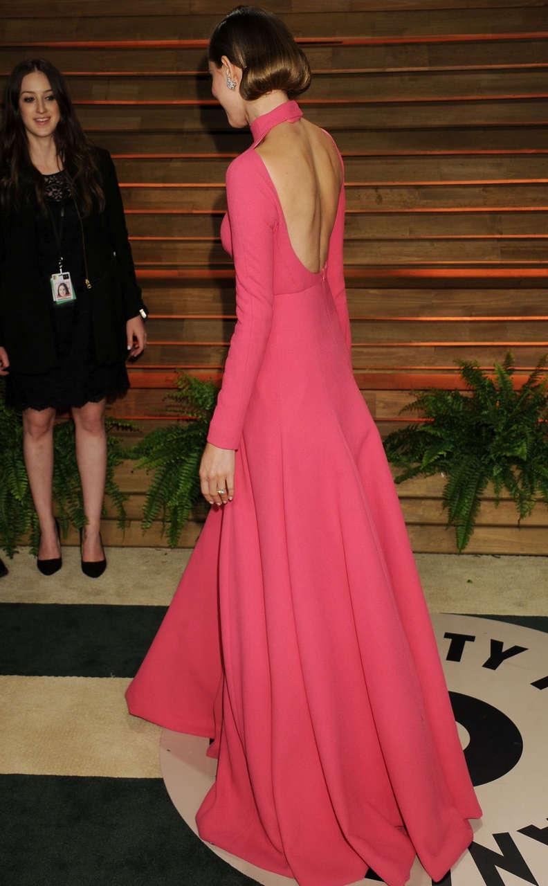 Allison Williams Vanity Fair Oscar Party Hollywood