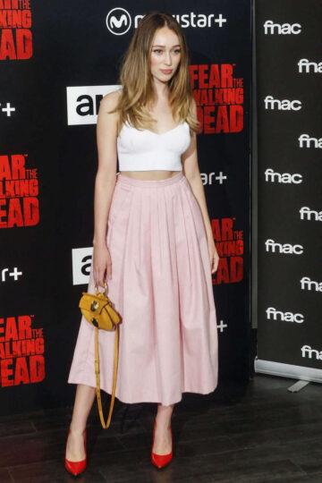 Alycia Debnam Carey Fear Walking Dead Fan Event Madrid