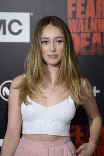 Alycia Debnam Carey Fear Walking Dead Photocall Madrid