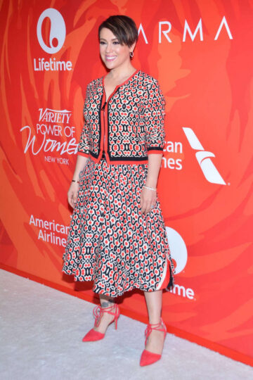 Alysa Milano Variety Power Of Woman New York