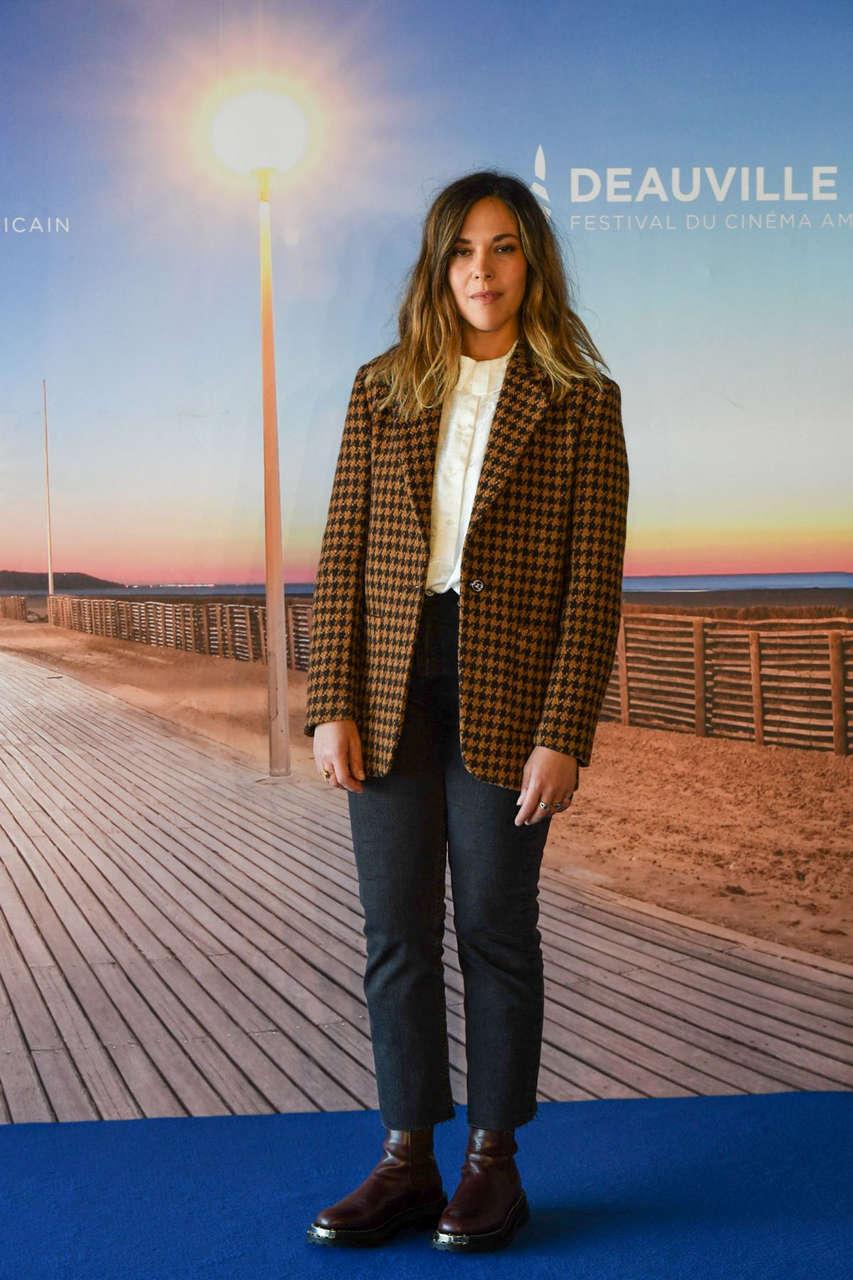 Alysson Paradis Good Man Photocall 2020 Deauville American Film Festival