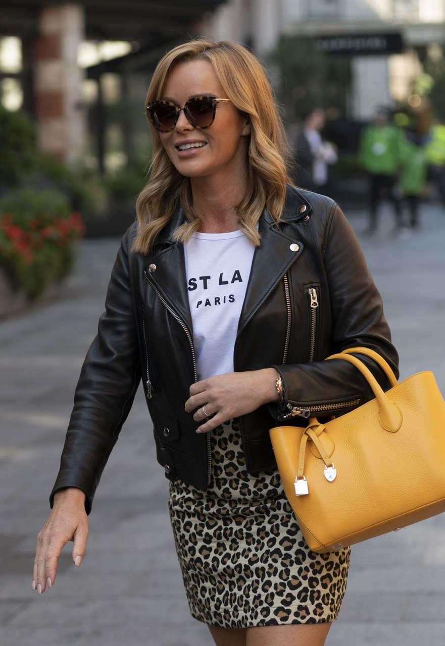 Amanda Holden Arrives Global Studios London
