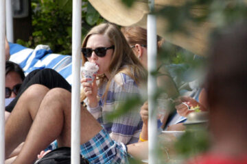 Amanda Seyfried Still Wearing Bikini Tops Miami