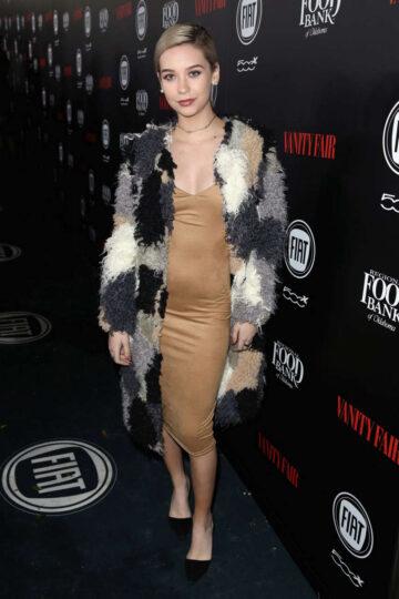 Amanda Steele Vanity Fair Fiat Young Hollywood Celebration Los Angeles