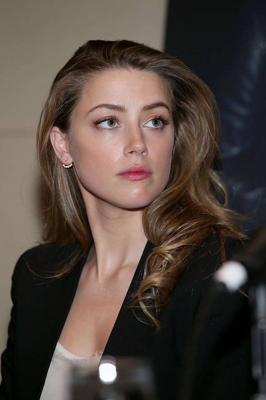 Amber Heard 2014 Texas Film Awards Press Conference Austin